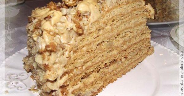 Торт наполеон с медом рецепт