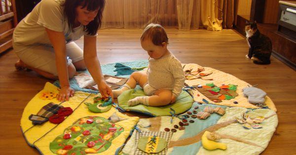 Детский коврик своими руками