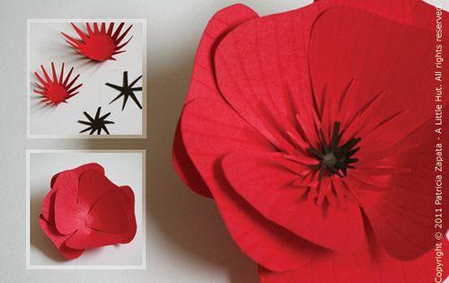 Сделать цветок на голову из бумаги своими руками