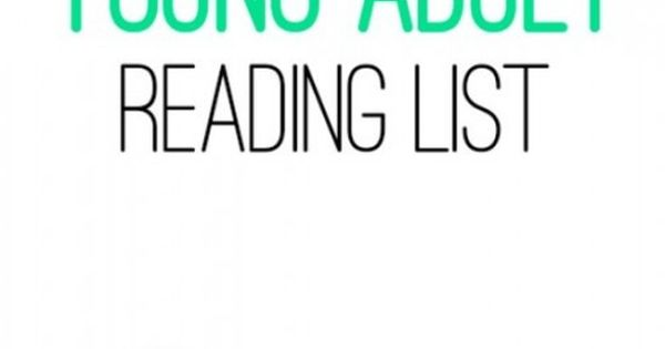 Read aloud books for young adults