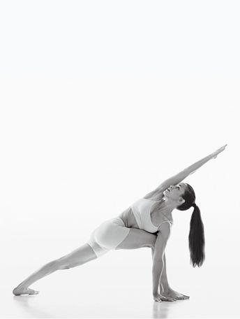 Extended Side Angle Pose - Utthita Parsvakonasana - Yoga Pose - Pose 5