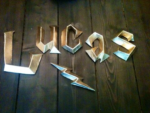 Harry Potter 3D Wall Letters - Harry+Potter+3D+Wall+Letters+by+PaperMacheSculptures+on+Etsy,+$15.00