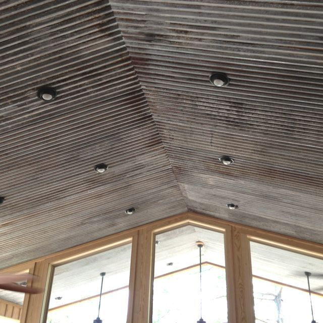 Lovely tin ceiling ideas pinterest pictures dream home for Old barn tin ideas