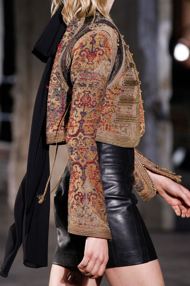 Saint Laurent Spring 2017 Ready-to-Wear Fashion Show Details - See detail photos for Saint Laurent Spring 2017 Ready-to-Wear collection.