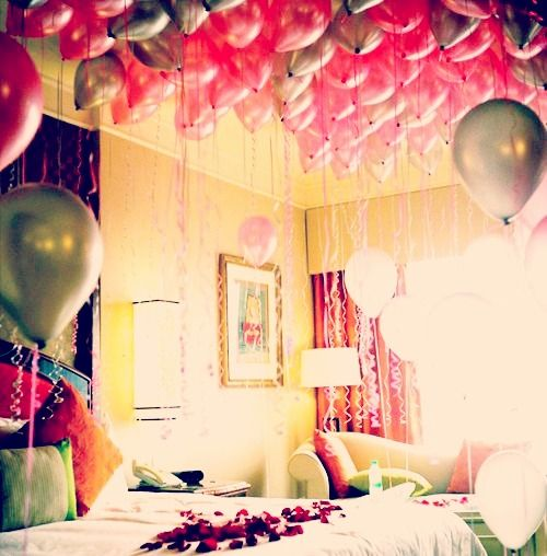 Balloon Avalanche, Birthday Morning Surprise And Birthday