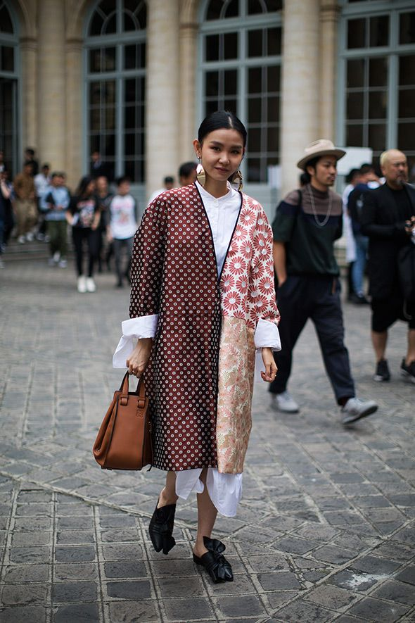 On the Street…Perfectly Oversized, Paris (The Sartorialist) - On the Street…Perfectly Oversized, Paris