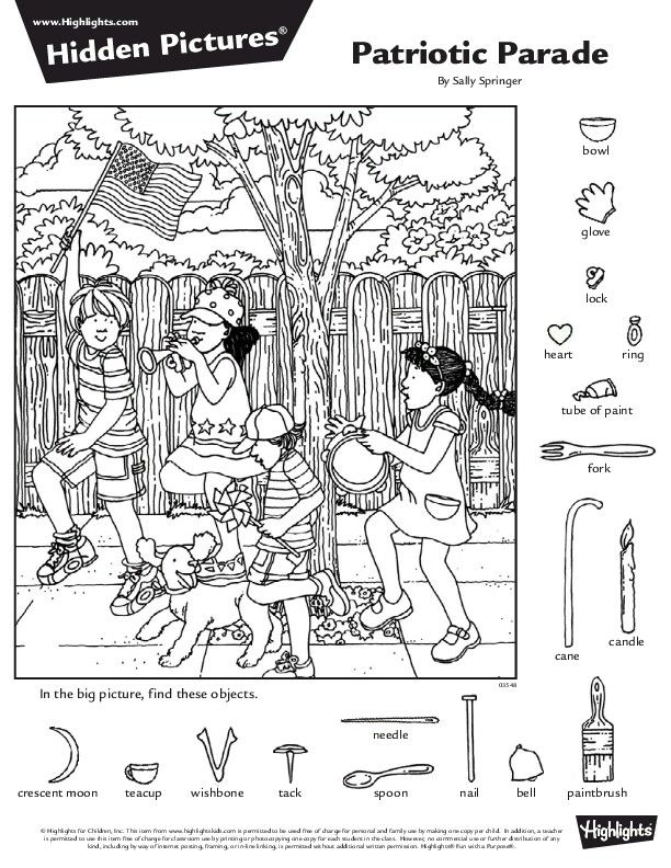 hidden pictures highlights에 대한 이미지 검색결과 HIDDEN PICTURES - new hidden alphabet coloring pages