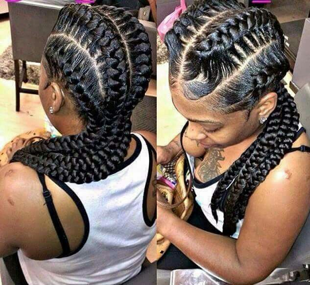 Braids on Pinterest | Box Braids, Goddess Braids and ...