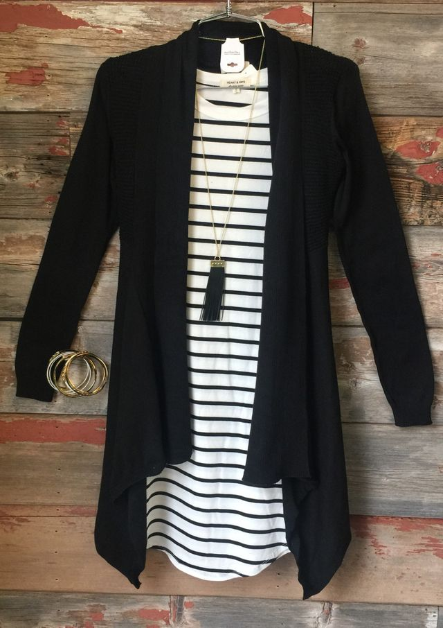 Just Another Dream Cardi: Black - Just Another Dream Cardi: Black from privityboutique