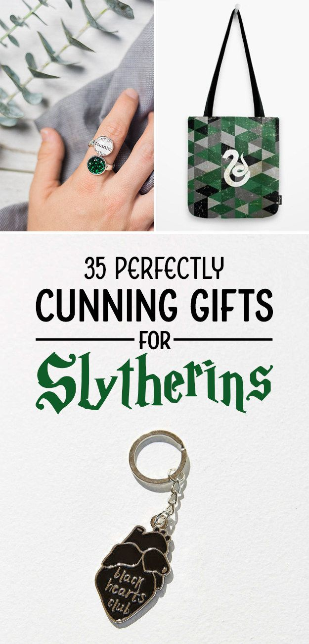 35 Things To Buy Your Favorite Slytherin - 1. This blunt print that will remind them every day to keep chasing their badass ambition.