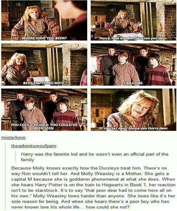Molly Weasley is amazing.