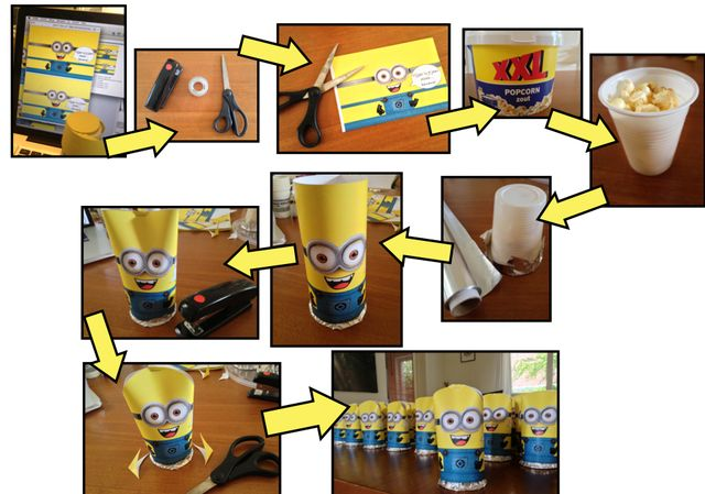 Minions popcorn and met on pinterest - Originele wc decoratie ...