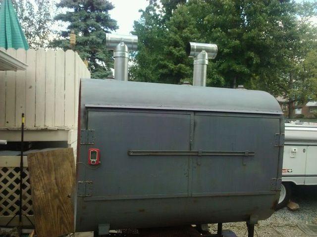 Build 275 Gallon Oil Drum Rotissrie Bbq Smoker 275