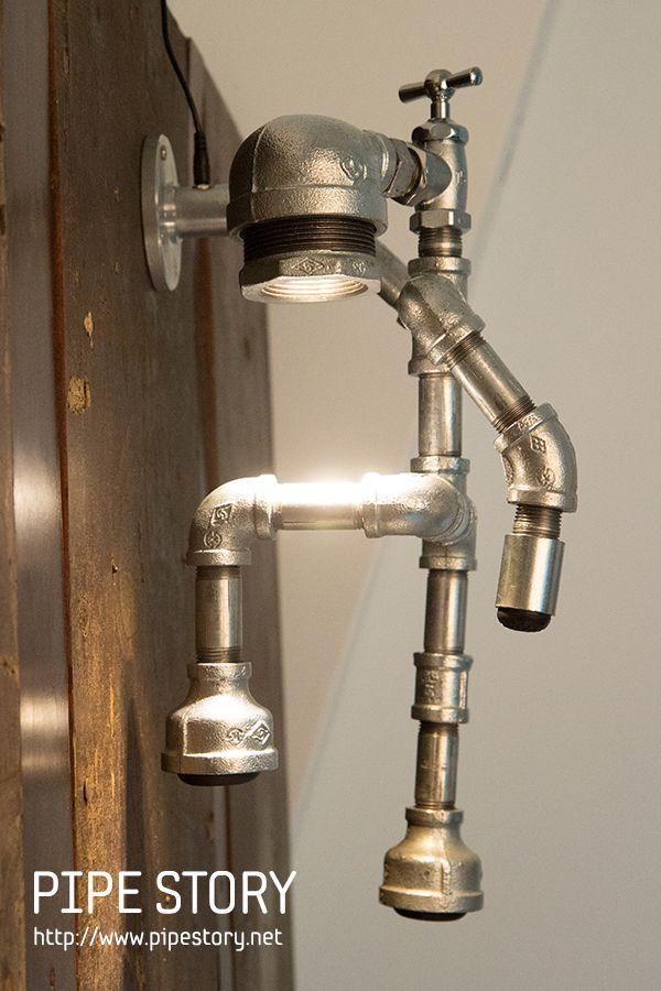 How to make a fabulous plumbing pipe light fixture pipes for Plumbing light fixtures