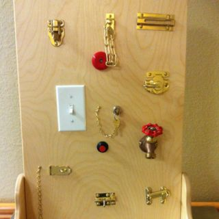 Sensory Wall Play Equipment And Busy Board On Pinterest