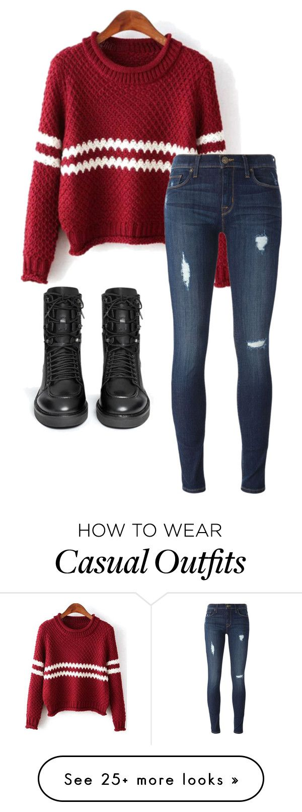 """""""Casual"""" by lowkeysunshine on Polyvore featuring Ash and Hudson"""