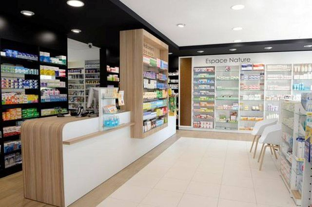 St georg apotheke offizin 3 pharmacy pinterest for Boursin agencement