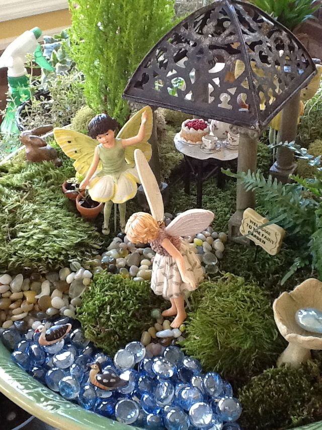 Pin de blessed be en fairy pinterest hada duendes y - Duendes para jardin ...