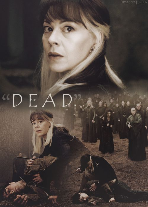 Narcissa Malfoy doesn't get enough credit. Nearly every single thing she does, she does to protect her son. And not many people realize that besides Snape, she was the only person who was able to get away with lying to Voldemort. Narcissa may be on the wrong side of a bad war for the sake of her son and husband, but she's still kick-ass.
