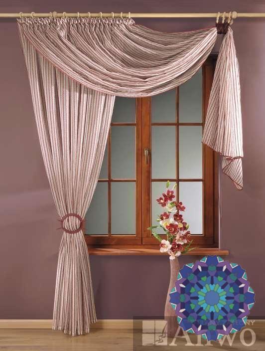 Дизайн маленького окна шторы