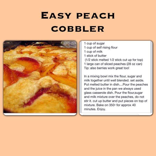 How to Make EASY Peach Cobbler Dump Cake | Recipe | Crunch Cake ...