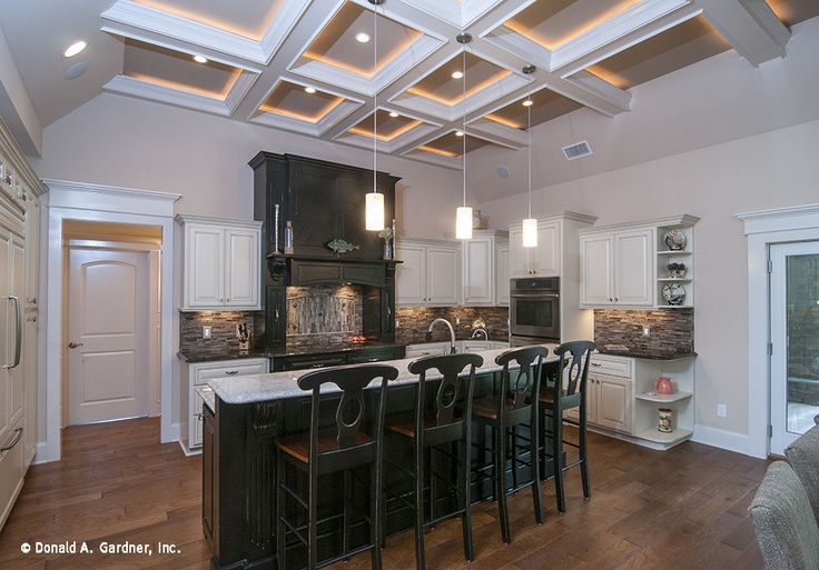 Open kitchen of the Sagecrest Floor Plan 1226