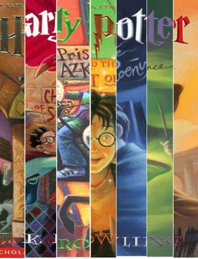 HARRY POTTER! HARRY POTTER! HARRY POTTER!  Except maybe book 5...too much teenage angst ;)