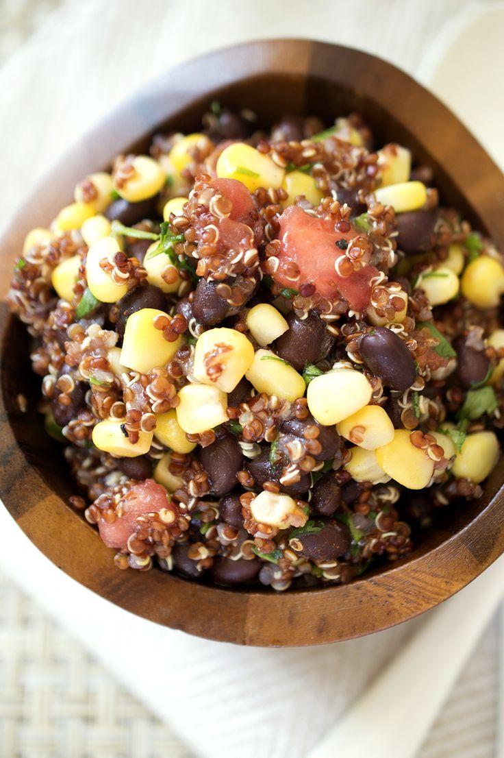 Tomato and Black Bean Quinoa Salad   Recipe