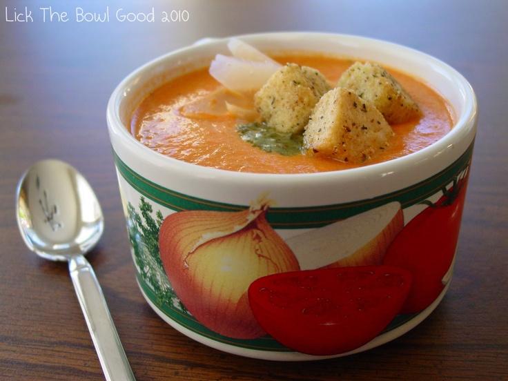 Creamy Tomato Basil Soup | Cook, Bake, Drink...Soups & Salads | Pinte ...