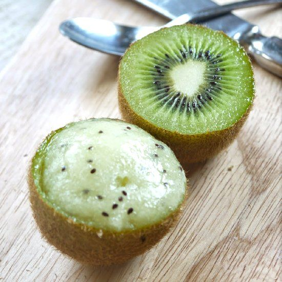 Kiwi & Lime Sorbet | Two Scoops | Pinterest
