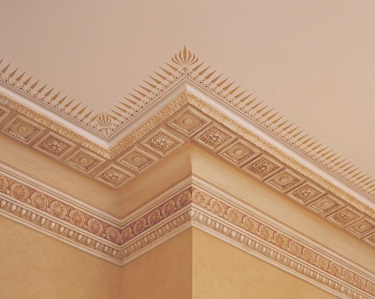 ceiling border from Hellenic Plasterwork   Inspiration: Ceiling Borde ...