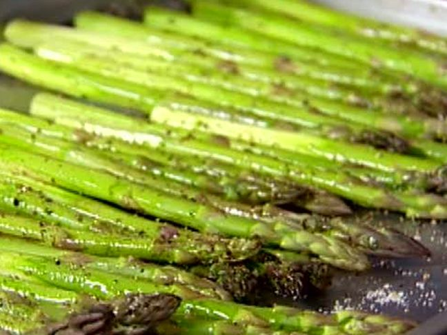 Roasted Asparagus with Lemon Vinaigrette from FoodNetwork.com New tip ...