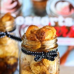 """Monkey Bread in a Jar {or Cinnamon Sugar """"Pull-Apart"""" Bread}"""