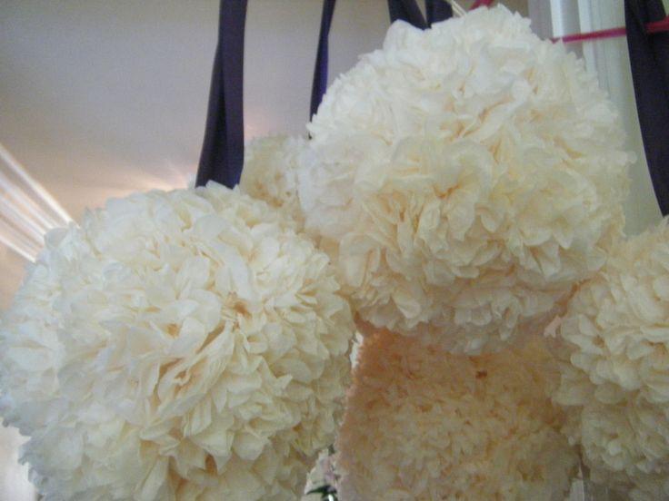Paper Flower Balls For Wedding DIY Pomander Balls Wedding Pinterest