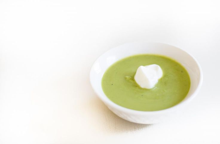 The Recipe Box: Summer Pea Soup | delicious | Pinterest