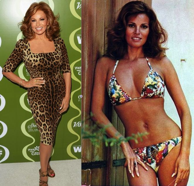 Raquel WelchRaquel Welch Now And Then
