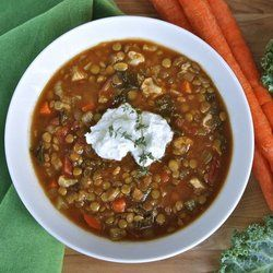 Slow Cooker Lentil Cauliflower Stew (adapted from Weelicious ...