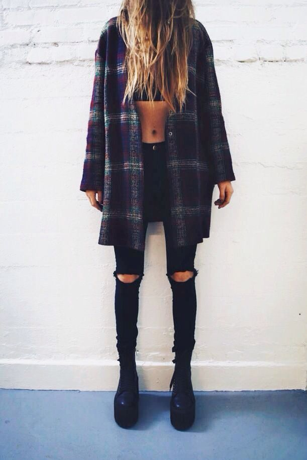25 Cute Grunge Fashion Outfit Ideas to Try This Season forecasting