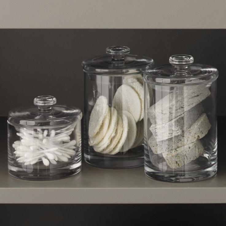 Excellent Bathroom Storage Jars  Apothecary Jars  Pinterest  Jars Bathroom