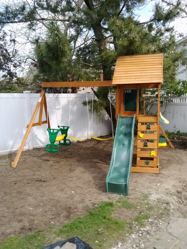 big backyard sandy cove playset from installed in lido
