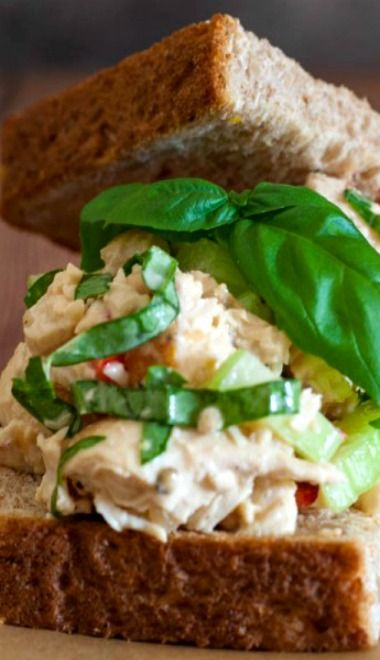 Lemon Basil Chicken Salad | Recipe