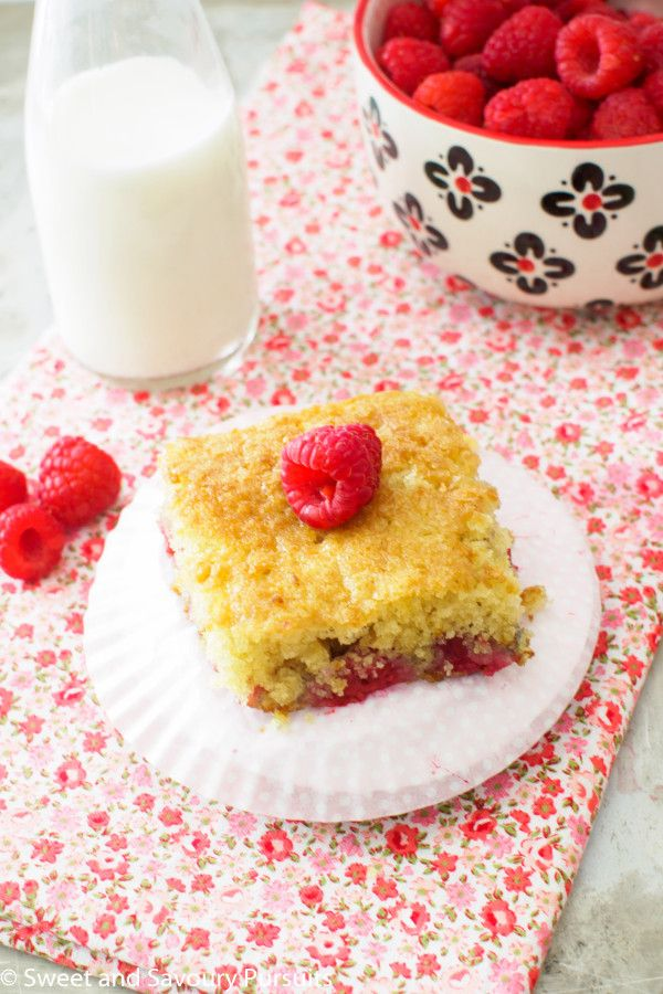 Raspberry Buttermilk Cake   From Sweet and Savoury Pursuits