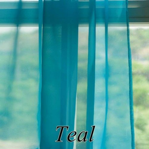 Teal Sheer Curtain Panels 96 Sheer Curtain Panels