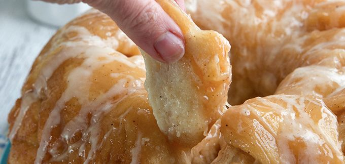 Spiced Eggnog Monkey Bread recipe - from Tablespoon!