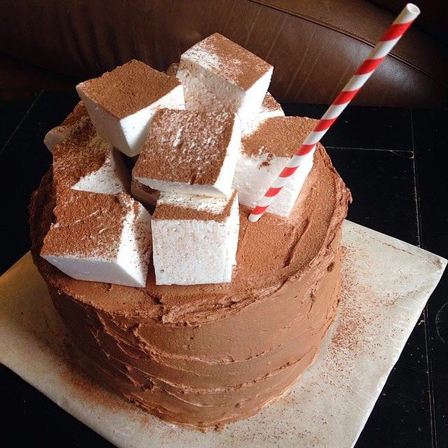 Hot Chocolate Cake | Cakes/cupcakes | Pinterest
