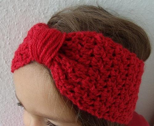 Adjustable bow headband pattern