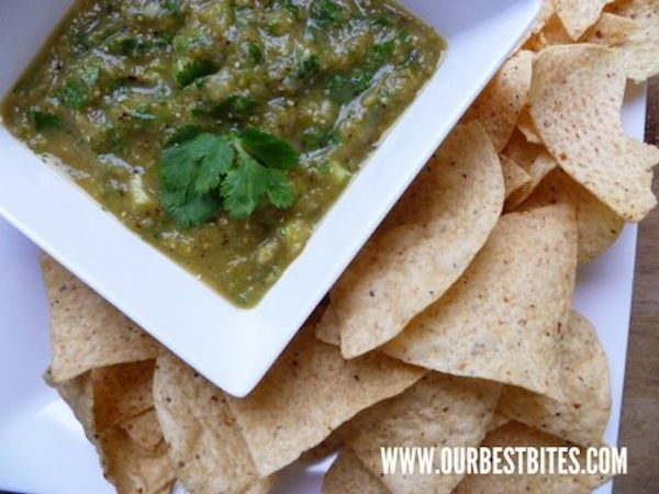 ... tomatillos jalapeños onions and garlic give the salsa great flavor