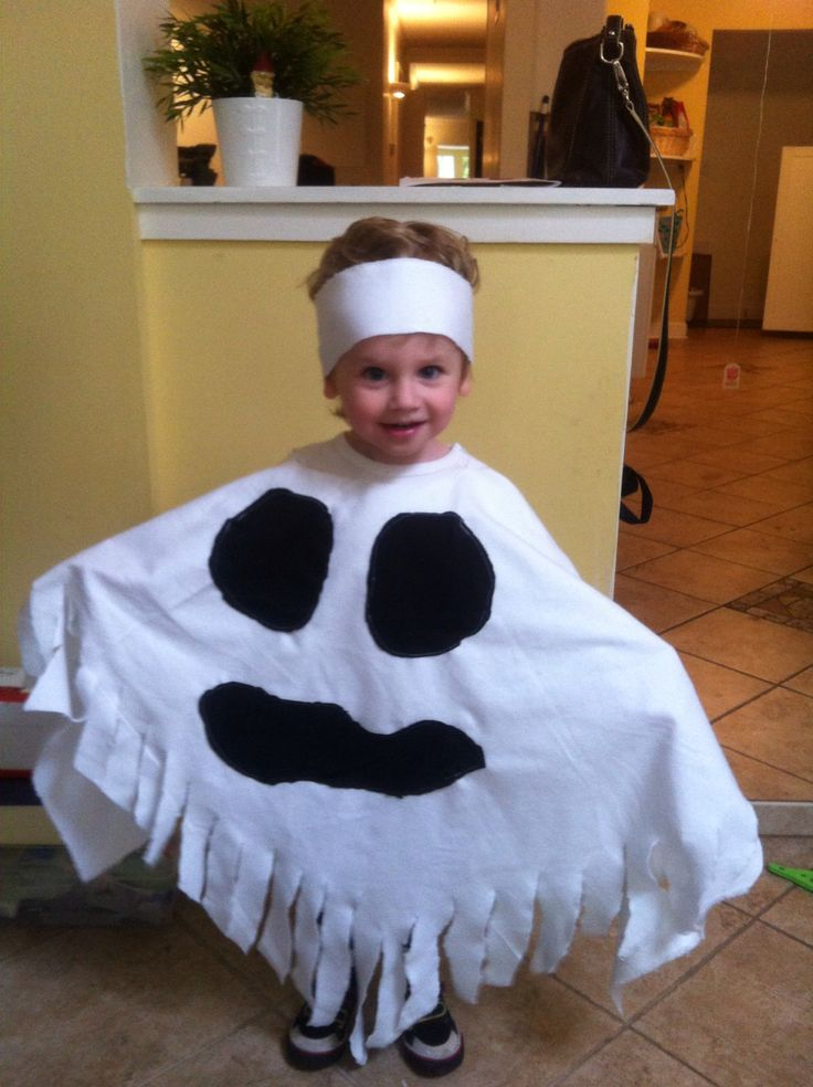 Toddler boy ghost costume fall pinterest for Diy halloween costumes for kid boy