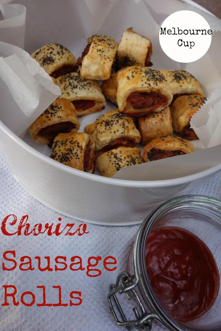 Gourmet Chick: How to make chorizo sausage rolls