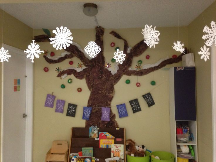 Winter decoration | Christmas craft for kids | Pinterest